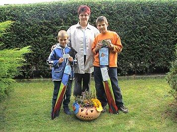 Gewinner des Kürbis-Wettbewerbs