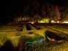 Einmal nachts durch den Irrgarten Kleinwelka wandeln...